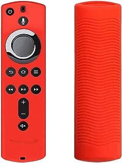 For Fire Stick 4K / Fire TV(第3世代)アンチスリップ耐震性リモコンカバー用シリコンリモートカバーケースグロー