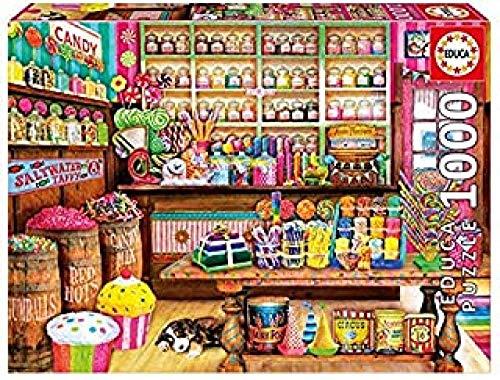 Z_PDG Rompecabezas para Adultos, 300 Piezas, Pintura Intelectual, Tienda De Dulces, Juegos Educativos, Juguetes, Decoración De La Pared del Hogar, Regalos