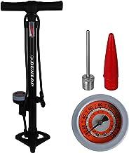 Dunlop fiets vloerpomp met manometer voor alle kleppen, luchtpomp, fiets vloerpomp, fiets pomp