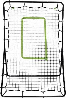 Guxing Baseball Softball Soccer Rebounder, Baseball Train Net Rack Rebound Goal Adjustable Angle Multi-Sport Trainer Ideal for Team and Solo Training
