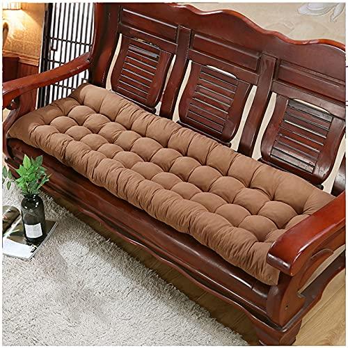 GQFGYYL Cojines para Muebles de Patio, CojíN para Asiento de Banco para Interior/Exterior, Cojines para Columpio, Funda para Sofá para Tumbona, Accesorios para Muebles de JardíN, Alfombrillas