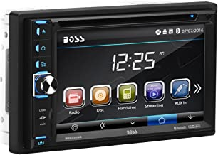 BOSS Audio Systems BV9371BD Car DVD Player - Bluetooth, Double Din, 6.2 Inch Detachable LED Touch Screen, DVD, CD, MP3, USB and SD Ports, AM FM Radio, Wireless Remote