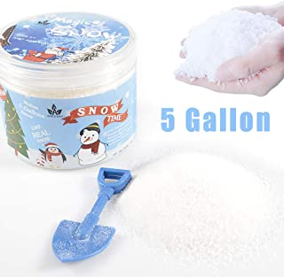 AINOLWAY Instant Snow Fake Snow Powder for Cloud Slime, Makes 5 Gallons of Artificial Snow