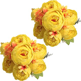 Yellow Peonies  Yellow Flowers Propane Tank Cover