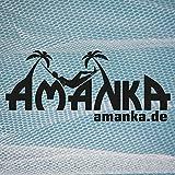 AMANKA XXL Moskitonetz 2,5 x 12 m Doppelbett Mückennetz Reise Betthimmel Weiß - 7