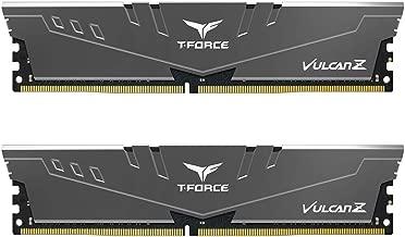 TEAMGROUP T-Force Vulcan Z DDR4 Desktop Memory Module ram 3200MHz (2x16GB) Grey TLZGD432G3200HC16CDC01