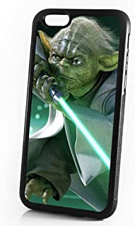 (For iPhone 6/iPhone 6S) Durable Protective Soft Back Case Phone Cover - A11058 Starwars Yoda