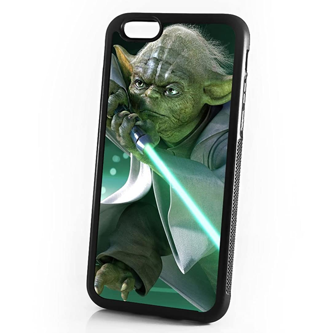 (For iPhone 5 5S SE) Durable Protective Soft Back Case Phone Cover - A11058 Starwars Yoda