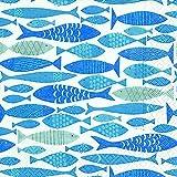 Carta + Design Tovaglioli 20 PZ. FSCMix 25 x 25 cm, Shoal of Fish