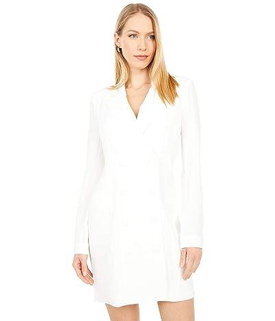 BCBGMAXAZRIA Blazer Cocktail Dress (Off-White) Women