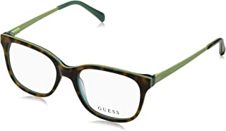 Guess Unisexs GU2661 052 53 Optical Frames Avana Scura