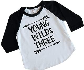 Boy Third Birthday Shirt, Three Year Old Birthday Boy Outfit