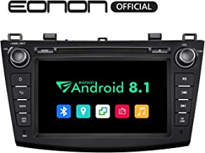 Eonon Car Stereo Radio Android 8.1 Head Unit 2GB RAM +32GB ROM Quad-Core 8 Inch in Dash Touch Screen Car Radio Audio Applicable to Mazda 3 Series 2010,2011,2012 and 2013 with Bluetooth WiFi-GA9263B