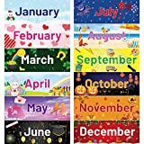 Holiday Monthly Headliners Seasonal Months of The Year Bulletin Board Set