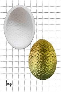 Dragon Egg (Large) Silicone Mold   Non-stick food grade mold, fondant mold, candy mold, resin mold, fimo mold, clay mold, soapmaking mold