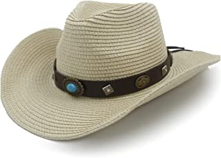 square top straw cowboy hats