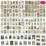 Bigxin 280Pcs Stickers Bullet Journal Pegatinas Viajes Vintage Etiquetas Scrapbooking...