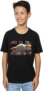 Star Wars Niños The Mandalorian The Child Song Meme Camiseta