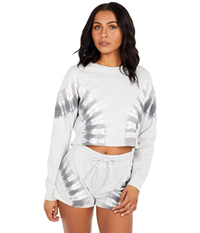 Beyond Yoga Weekend Boxy Cropped Pullover