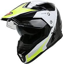 BBJZQ Motocross Helmet Matte Youth ATV MX Helmet with Dual HD Transparent Visors Off Road Downhill All Mountain Riding Helmet Good Ventilation Cross Country Helmet Downhill Helmet - DOT