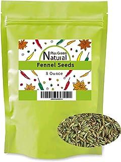 Fennel Seed Whole 8 Ounces, Gluten Free Non GMO Non Irradiated, Foeniculum Vulgare Spice Used to Flavor Mea...