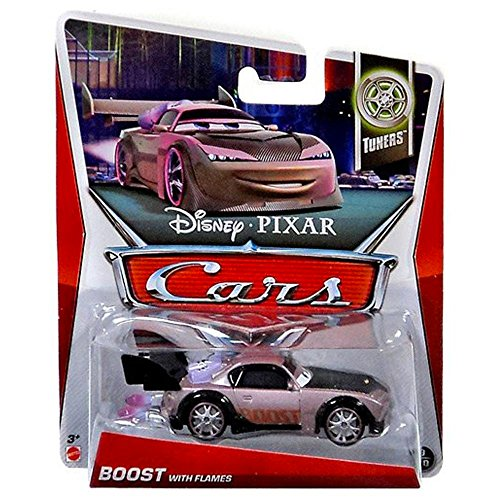 Disney Pixar Cars Boost With Flames (Tuners, #9 of 10) - Voiture Miniature Echelle 1:55