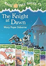 Magic Treehouse #1-8 Paperback Book Set Includes Dinosaurs Before Dark, the Knight At Dawn, Mummies in the Morning; Pirates Past Noon, Night of the Ninjas; Afternoon on the Amazon; Sunset of the Sabertooth & Midnight on the Moon Tree House Books