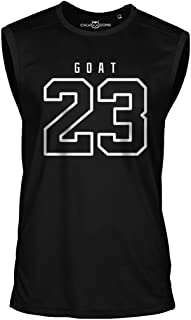 23 Goat Jordan Sleeveless Shirt Greatest of All Time Basketball Jersey Trikot Michael Bulls