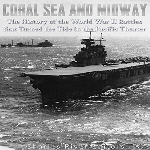 Coral Sea and Midway audiobook cover art