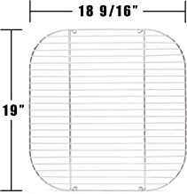 Music City Metals 44281 Chrome Steel Wire Cooking Grid Replacement for Gas Grill Models Aussie 4280 and Aussie 4280-0A113