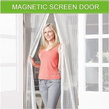 Zanzariera Magnetica Impedendo agli Insetti di Entrare Coedou Zanzariera Magnetica per Porte 73 x 230 cm