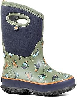 Bogs Kids' Classic David Rollyn Insulated Rain Boots