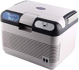 QINJLI kylskåp för bil, bärbar 12 l stor rumskylning och värme tyst, ljudlös, energibesparande energi kan både användas av...