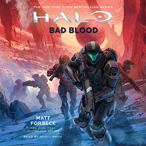 HALO: Bad Blood cover art