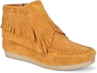 Five Tribe Women's Brave Moccasin Bootie