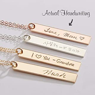 Actual Handwriting Necklace (CG247N).