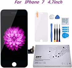 for iPhone 7 Screen Replacement Black 4.7