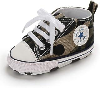 L/&ieserram stivalini Scarpine Passeggio Primi Passi per Neonato Suola Morbida antiscivola per comminciare a Camminare con Stella