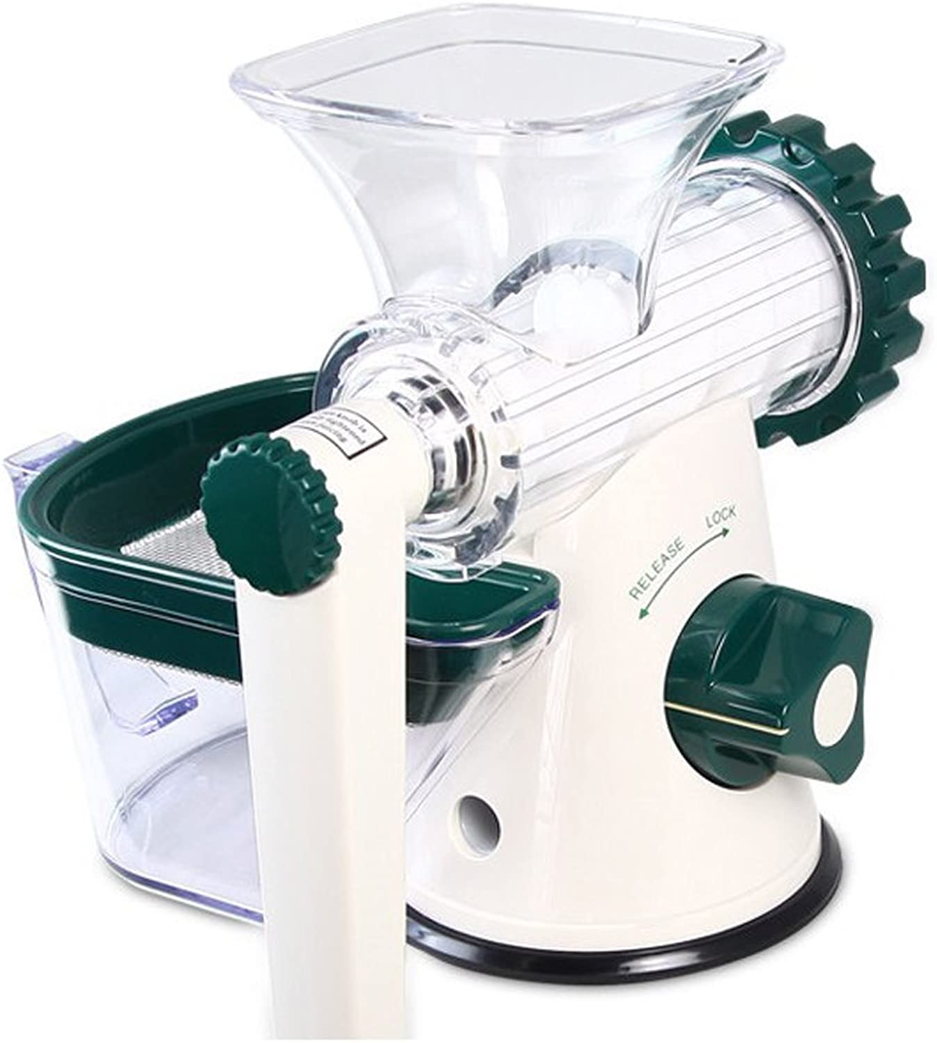 Manually Juicer Household Multifunction Vegetables Fruit Hand Crank Juicer Kitchen Small Tools,D
