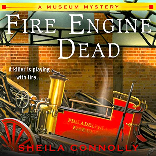 Fire Engine Dead audiobook cover art