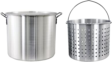 Best big aluminum cooking pot Reviews