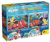Liscianigiochi- Disney Puzzle Supermaxi 2 x 12 Nemo niños, Multicolor (86573)