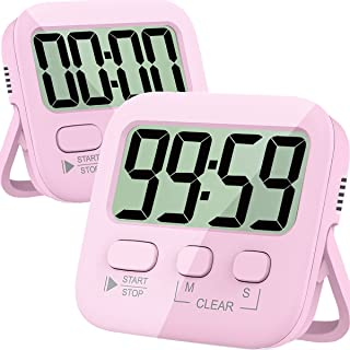 Timers, Kitchen Timer for Cooking, Digital Timer for Kids, Egg Timer, Magnetic Stopwatch Clock Timer for Classroom, Teache...