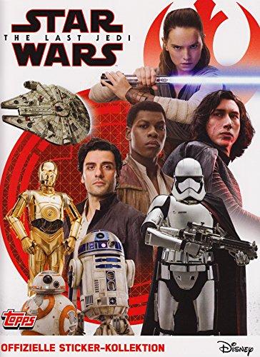 CAGO Topps - Star Wars - Die letzten Jedi - Sammelsticker - Album, Tüten, Display - Deutsch (1 Album)