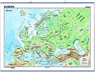 Amazon.es: Mapa fisico Europa