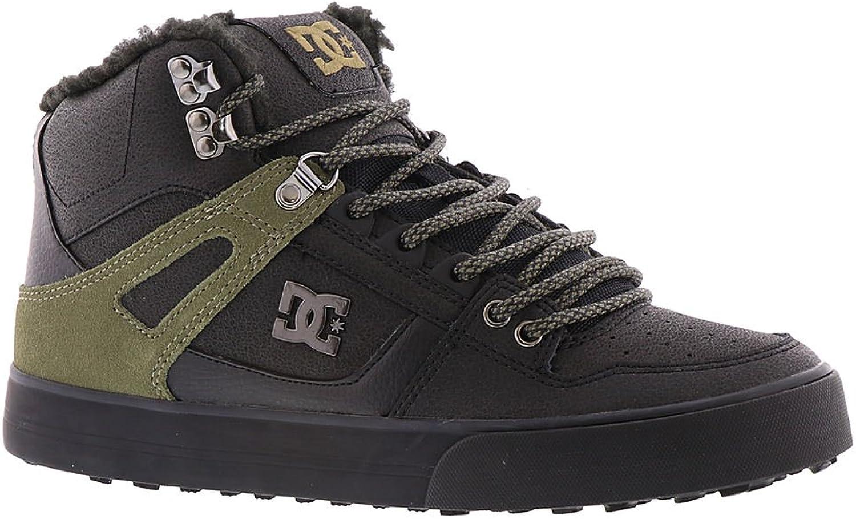 DC shoes Men's Spartan High WC WNT Sneaker shoes Black 9