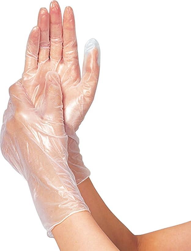 家事評価ご予約タケトラプラスチック手袋200パウダーフリーM200枚 075883 竹虎メディカル