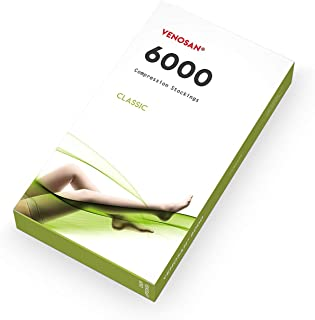 VENOSAN ベノサン 6000 医療用弾性ストッキング(クラス2、パンスト) (黒, Sつま先あり)