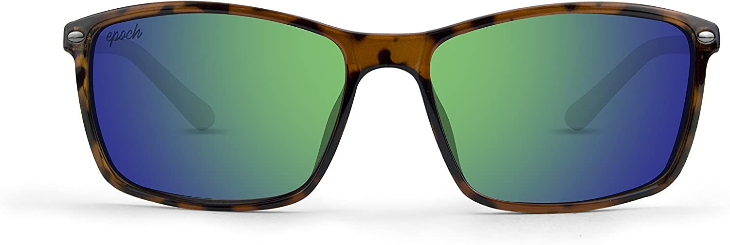 Epoch 11 Tortoise Frame with Green Mirror Lens