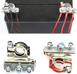 Akozon Sostituzione morsetto connettore morsettiera batteria auto barca 2pcs Terminale connettore